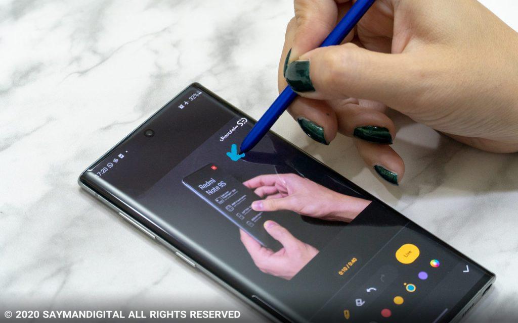 ادیت ویدیو به کمک قلم اس پن
