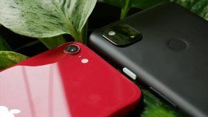 دوربین گوگل پیکسل ۴ ای