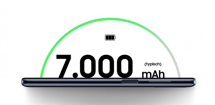 باتری ۷۰۰۰ میلی آمپر ساعتی - گلکسی M51