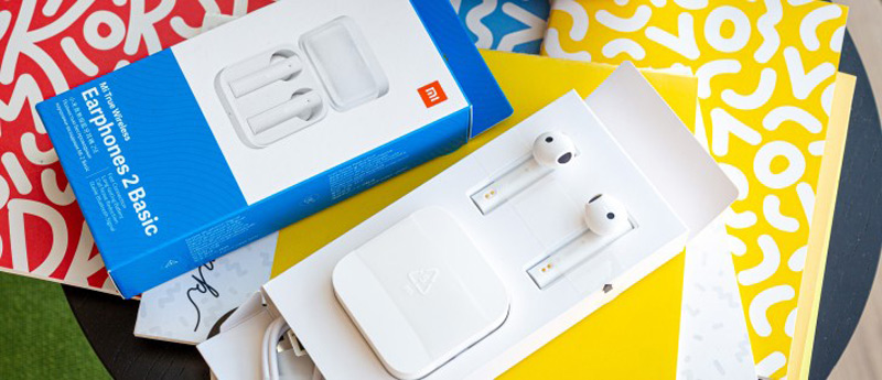 طراحی و جعبه  xiaomi mi wireless basic 2
