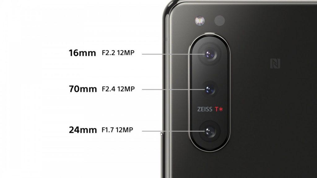 دوربین اصلی سونی اکسپریا ۵ نسخه ۲