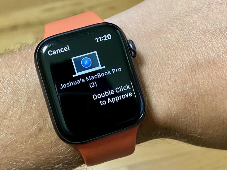 کنترل پسورد ها و یادداشت های مک بوک به کمک اپل واچ