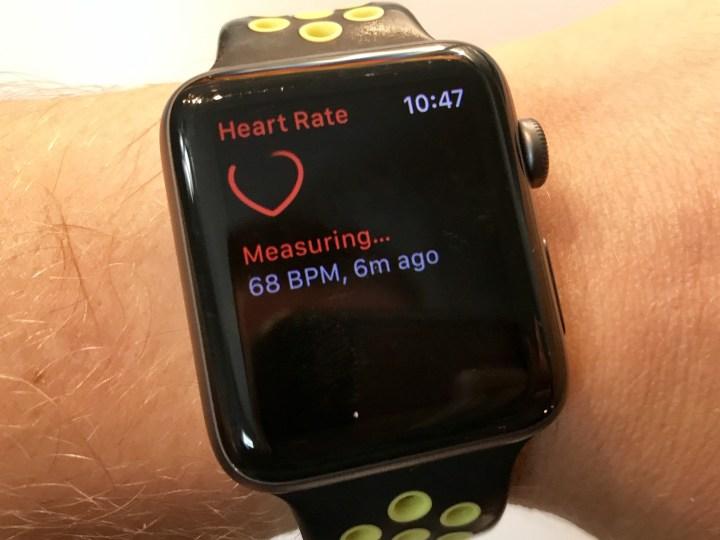 اندازه گیری ضربان قلب به وسیله اپل واچ