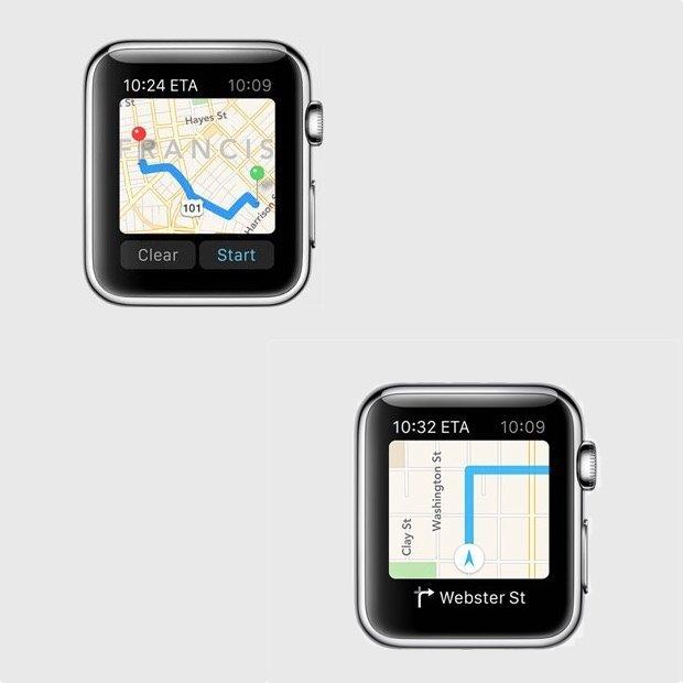 قابلیت مسیریابی به وسیله اپل واچ