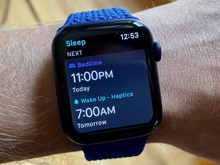 قابلیت پایش خواب ساعت های اپل واچ