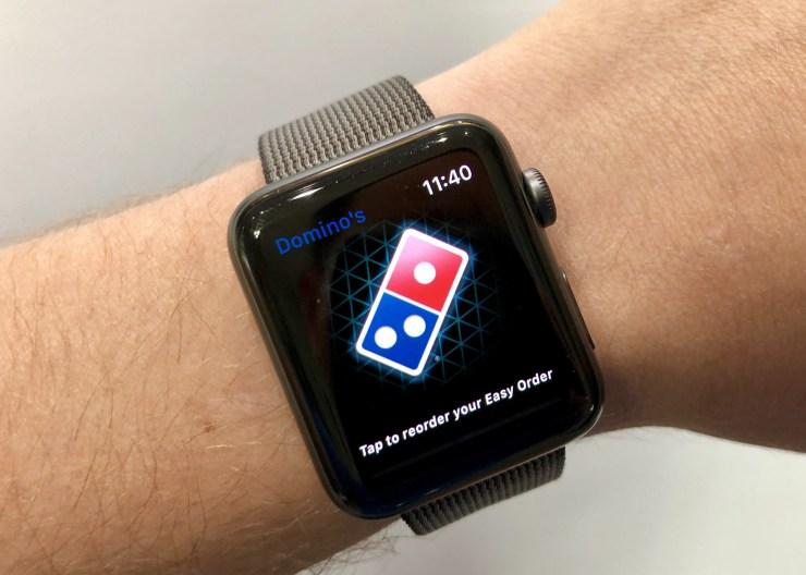 سفارش آنلاین غذا به وسیله ساعت اپل واچ