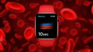 اکسیژن خون واچ سری ۶