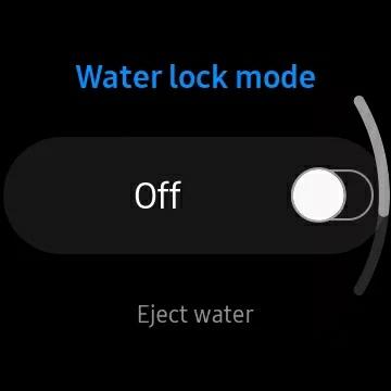 قابلیت water lock