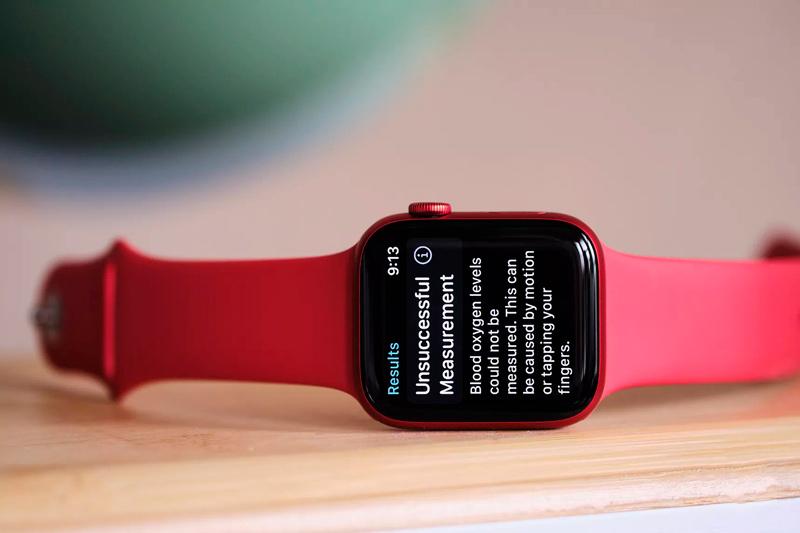 اندازه گیری اکسیژن خون در ساعت های اپل واچ سری 6