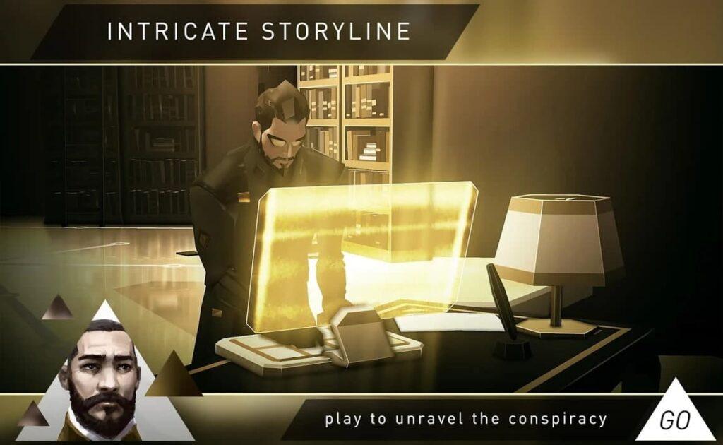 معرفی بازیهای پازلی Deus Ex GO
