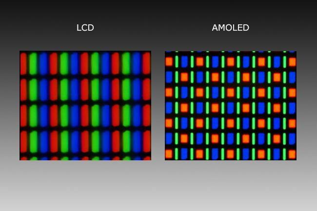 مقایسه AMOLED و LCD
