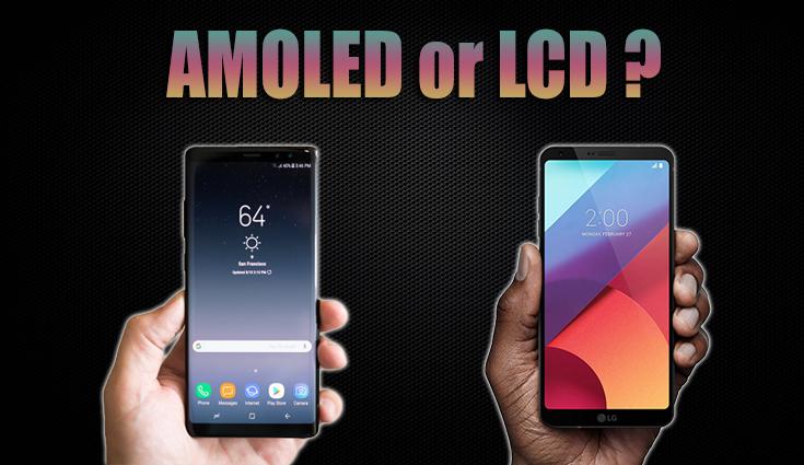معرفی صفحههای AMOLED و LCD
