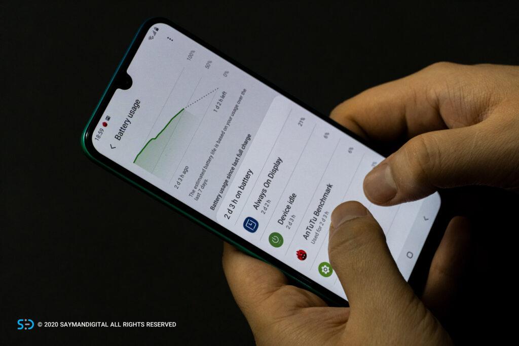 گلکسی M30s در مطلب بهترین گوشی های ۲۰۲۰ از نظر باتری