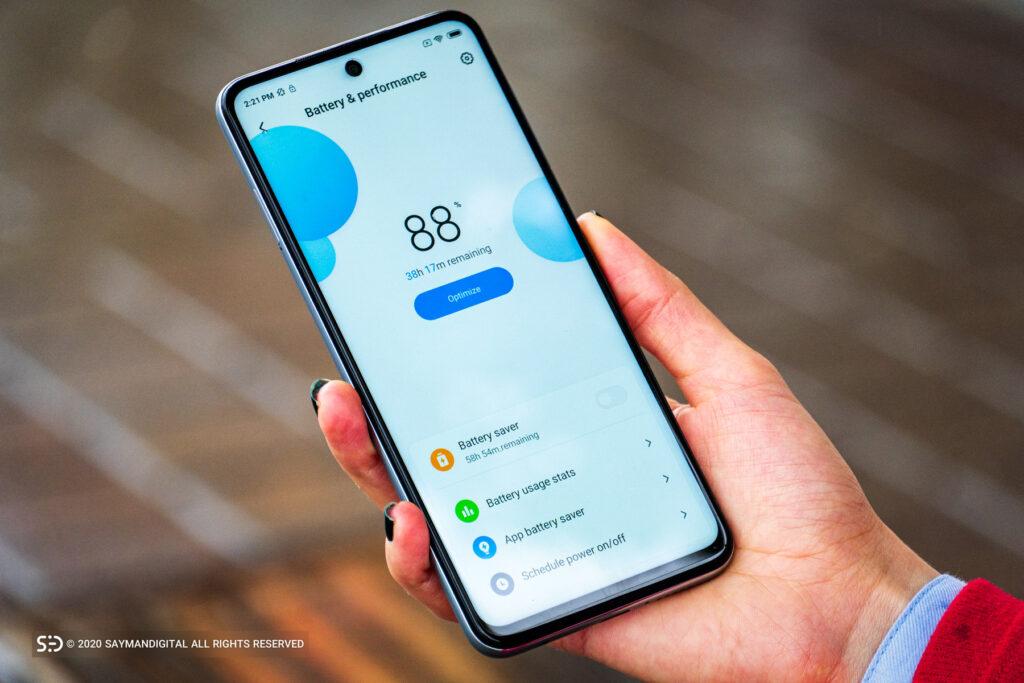 ردمی نوت ۹ پرو و ۹ اس در مطلب بهترین گوشی های ۲۰۲۰ از نظر باتری