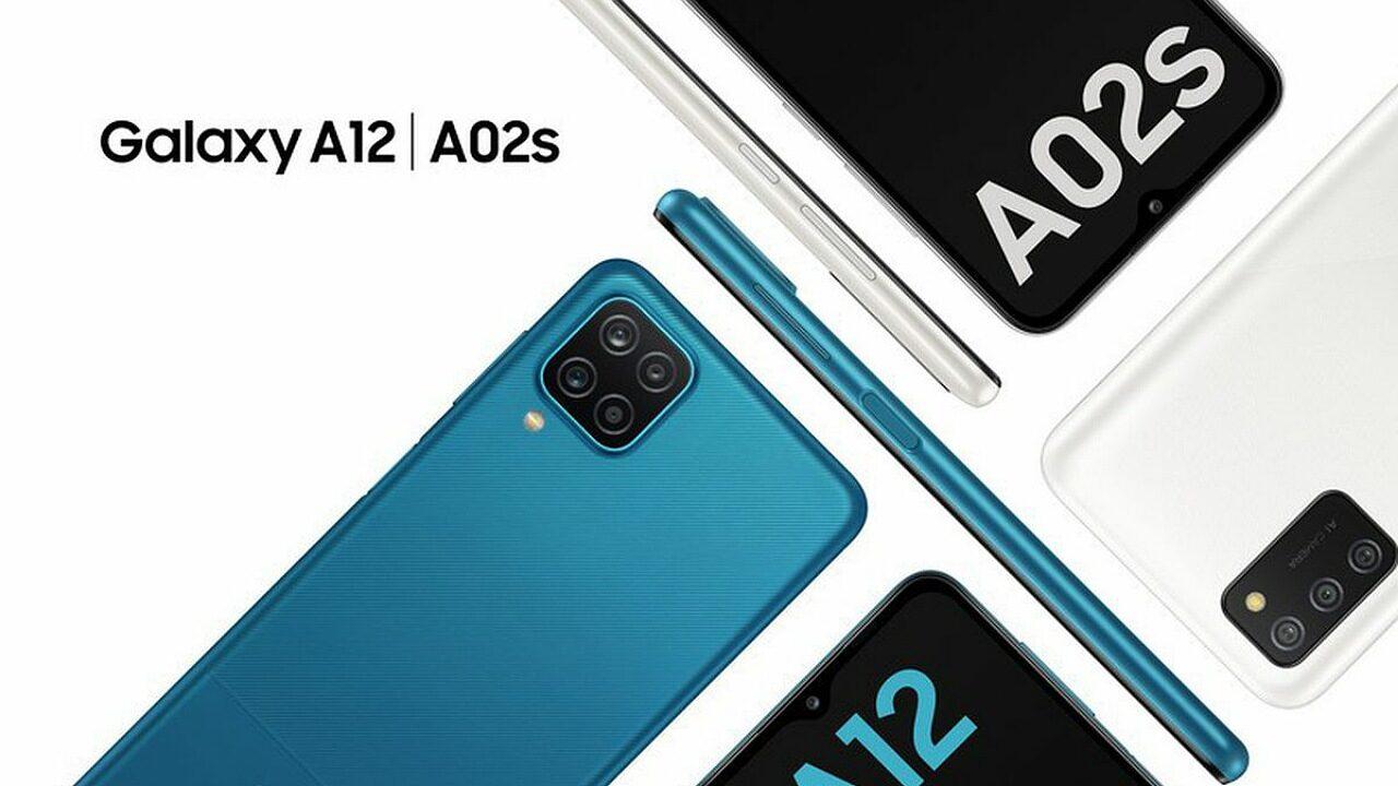 سامسونگ گلکسی A12 و گلکسی A02 را معرفی کرد