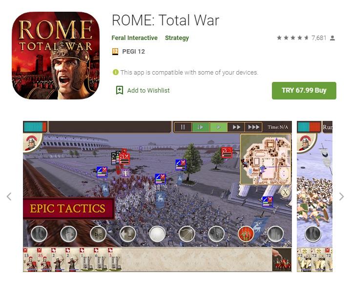 رم: جنگ تمام عیار(ROME: Total War )