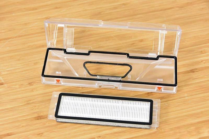 محفظه زباله و فیلتر آن