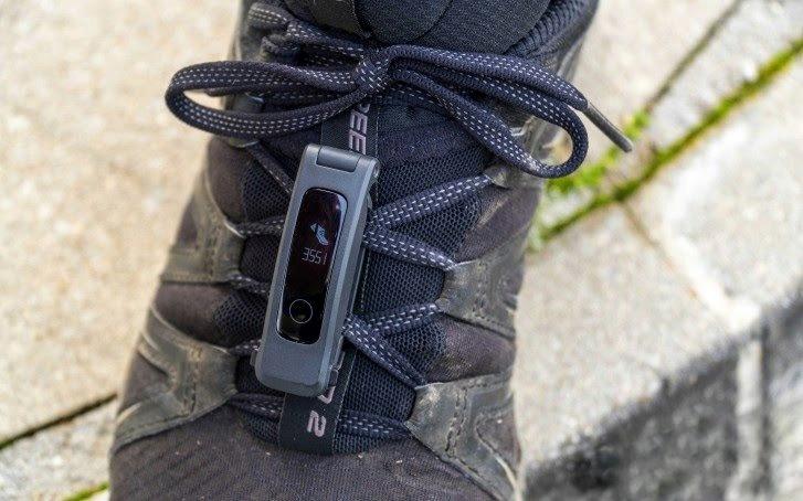 استفاده از گیره و اتصال آنر بند 5 sport به کفش