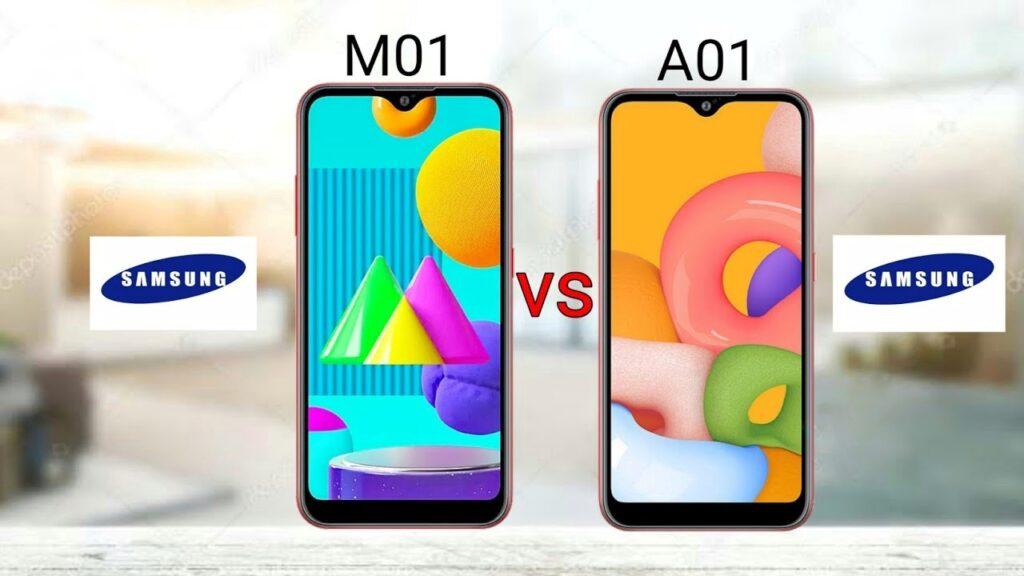 گلکسی A01 و M01 در راهنمای خرید گوشیهای سامسونگ