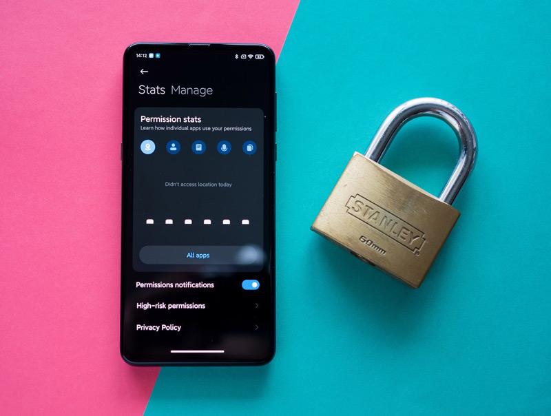 حریم خصوصی و امنیت در می یو آی 12