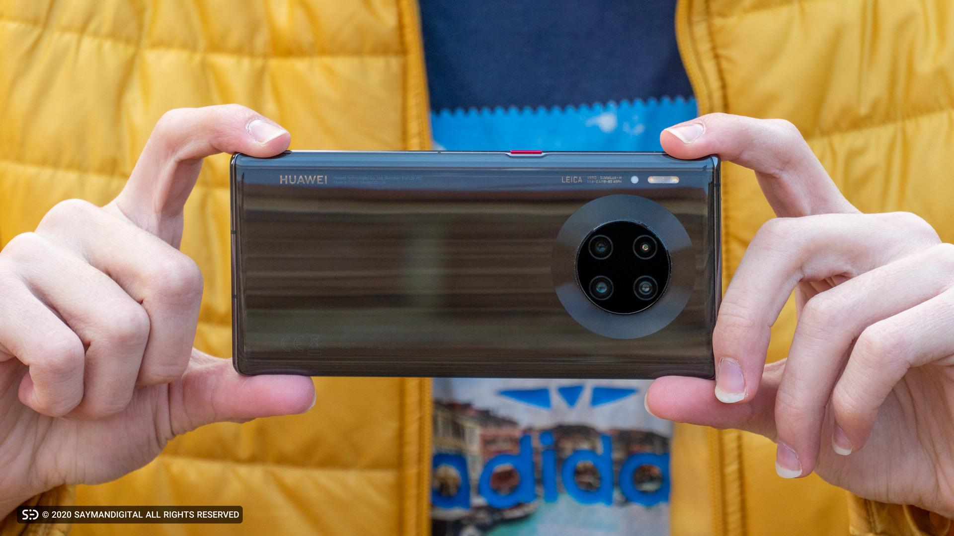 چیدمان لنز دوربینهای میت ۳۰ پرو