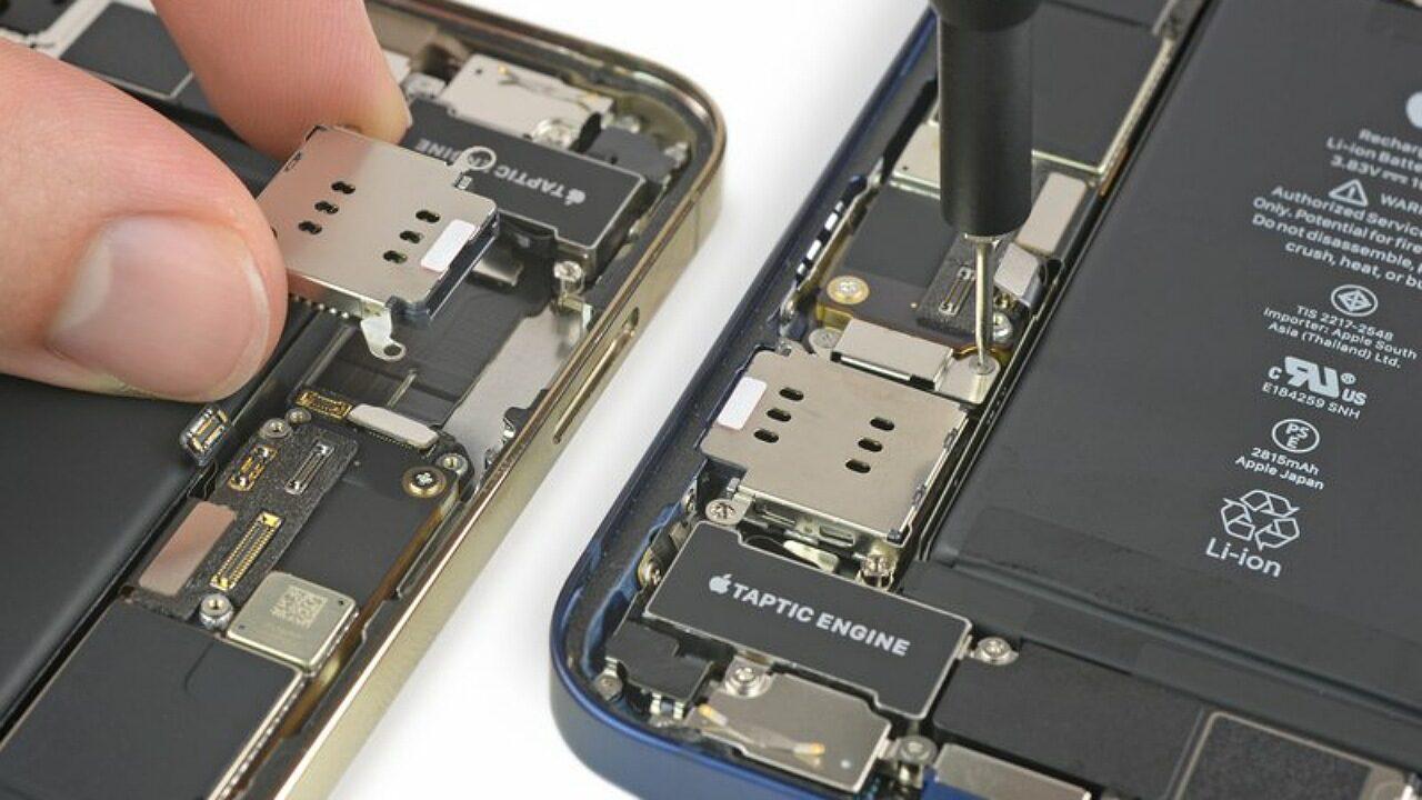 امتیاز تعمیرپذیری گوشی های مختلف