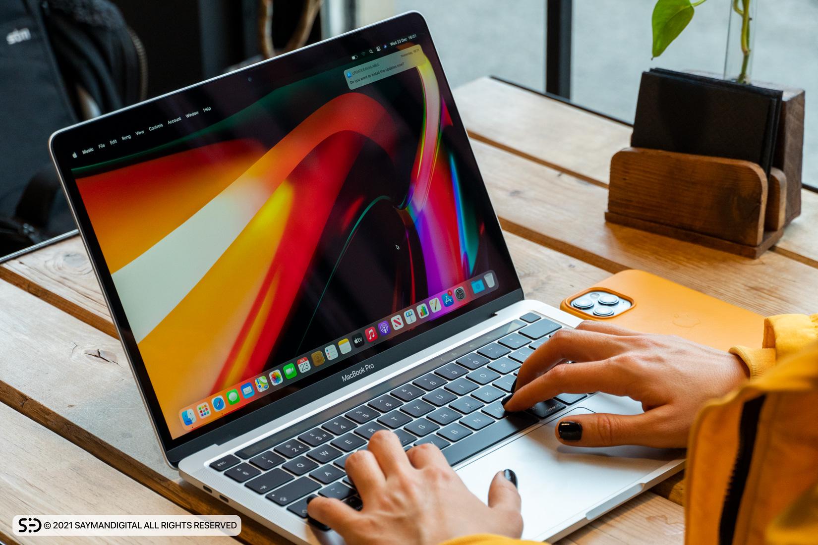 طراحی مک بوک پرو M1 اپل