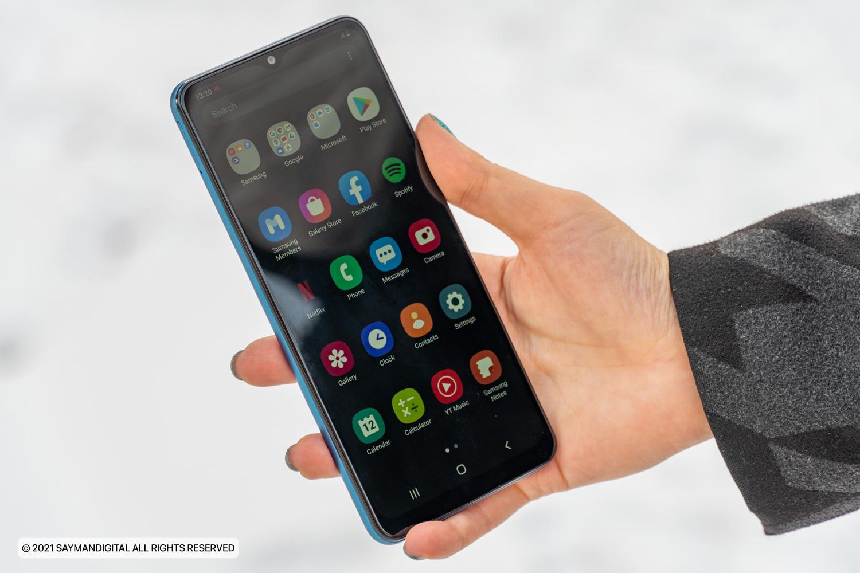 رابط کاربری Galaxy A12