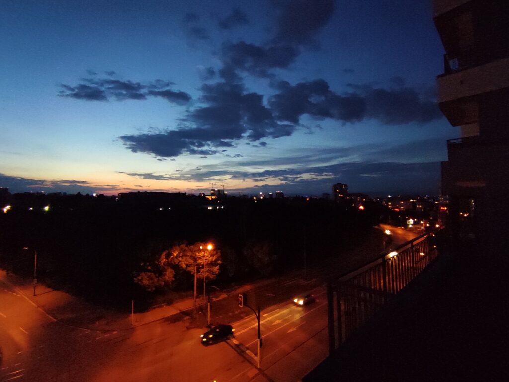 دوربین فوق عریض در شب
