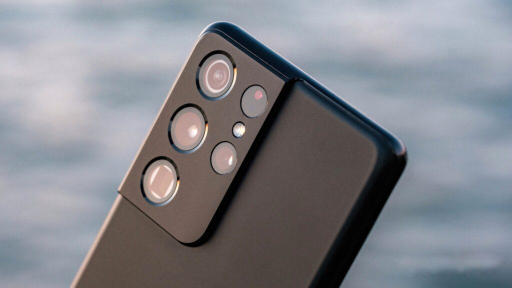 چیدمان دوربینهای گلکسی S21 Ultra