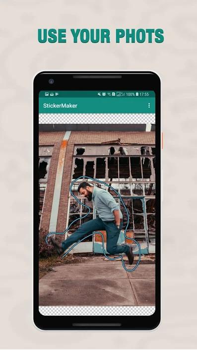 برنامه تبدیل عکس به استیکر واتساپ