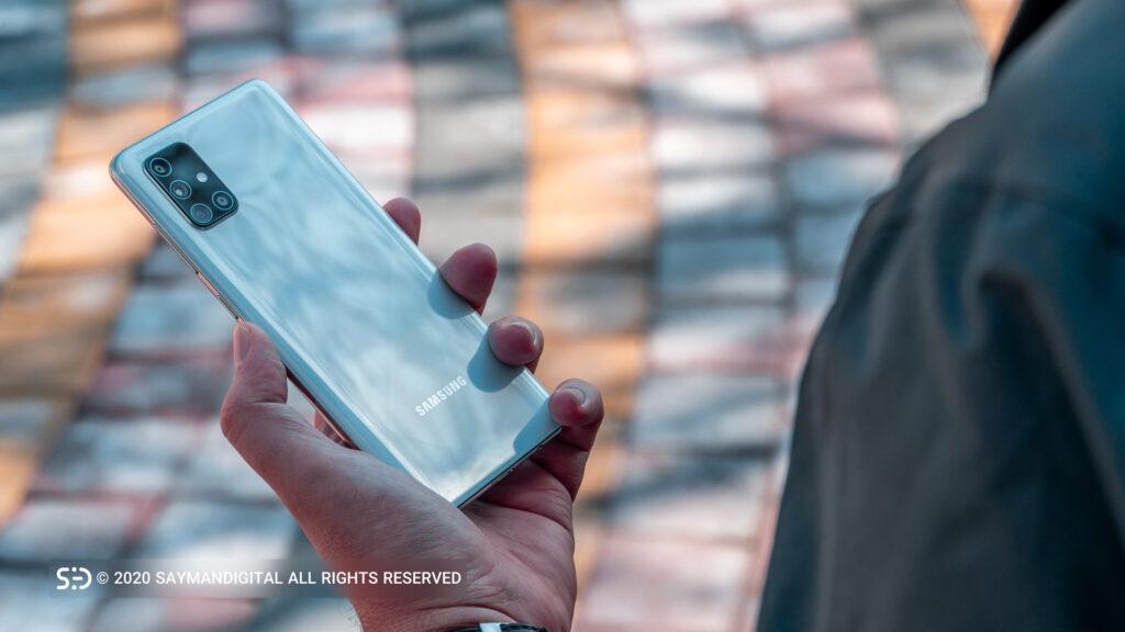 گلکسی A71 در راهنمای خرید گوشی 10 میلیونی