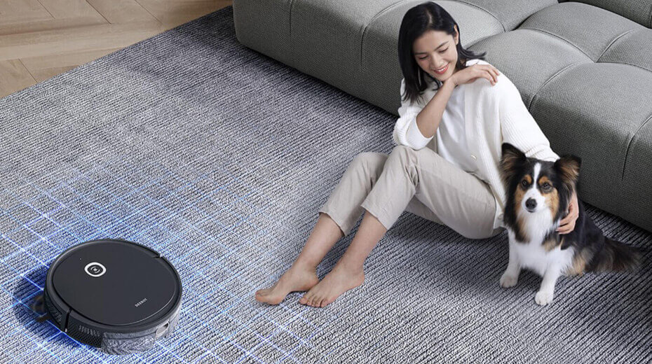 عکس تبلیغاتی جاروبرقی رباتی
