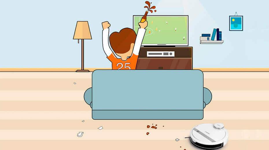 تمیزکاری بی سروصدا حین تماشای تلوزیون و استراحت