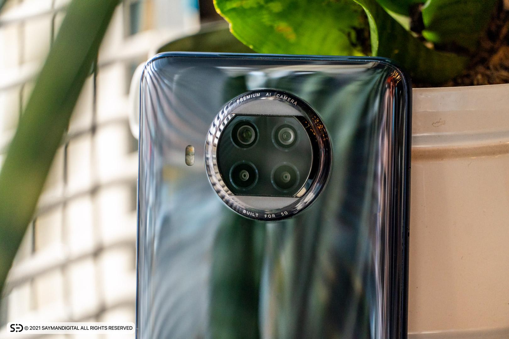 چیدمان دوربینهای گوشی Mi 10T lite