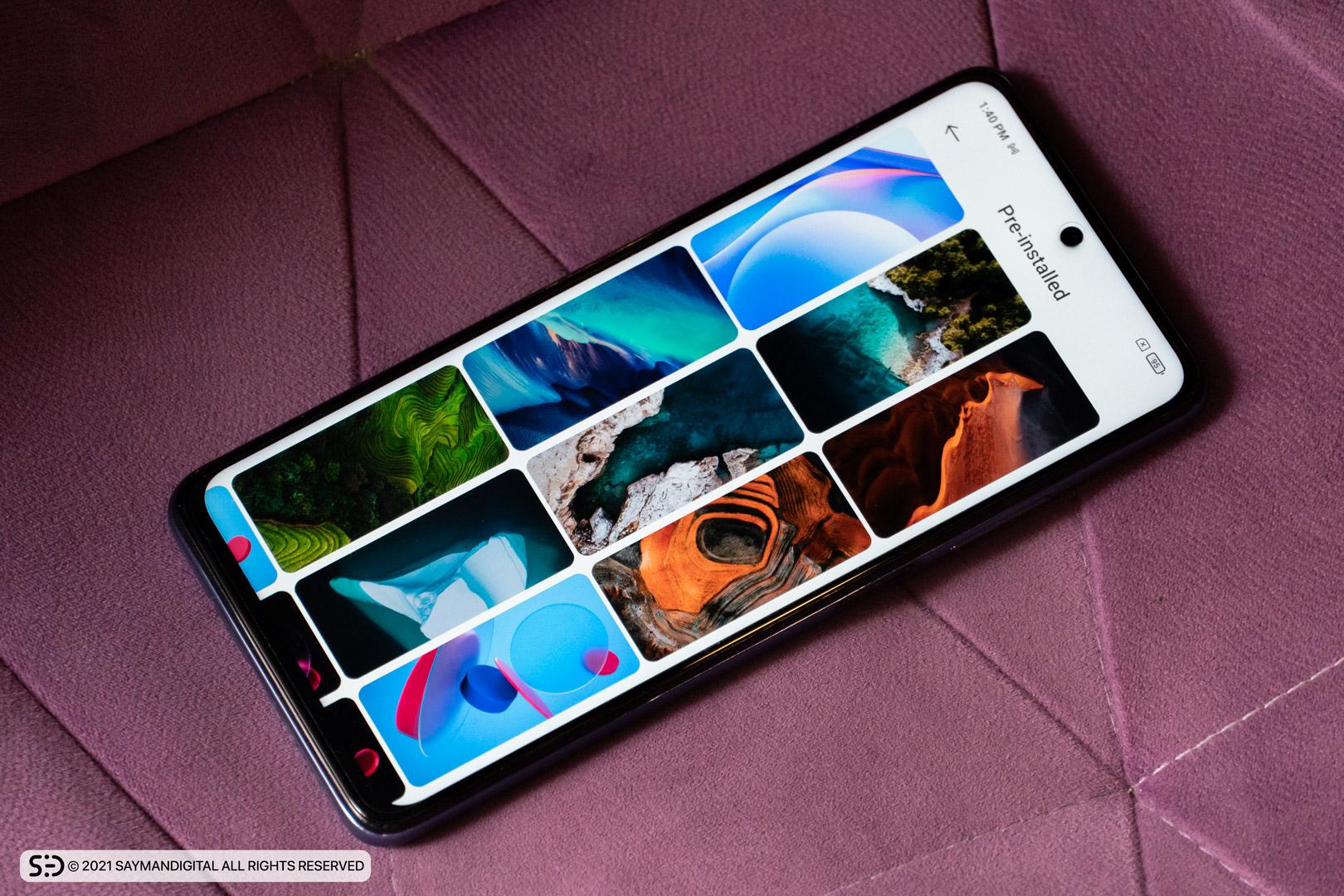 نمایشگر گوشی Mi 10T lite