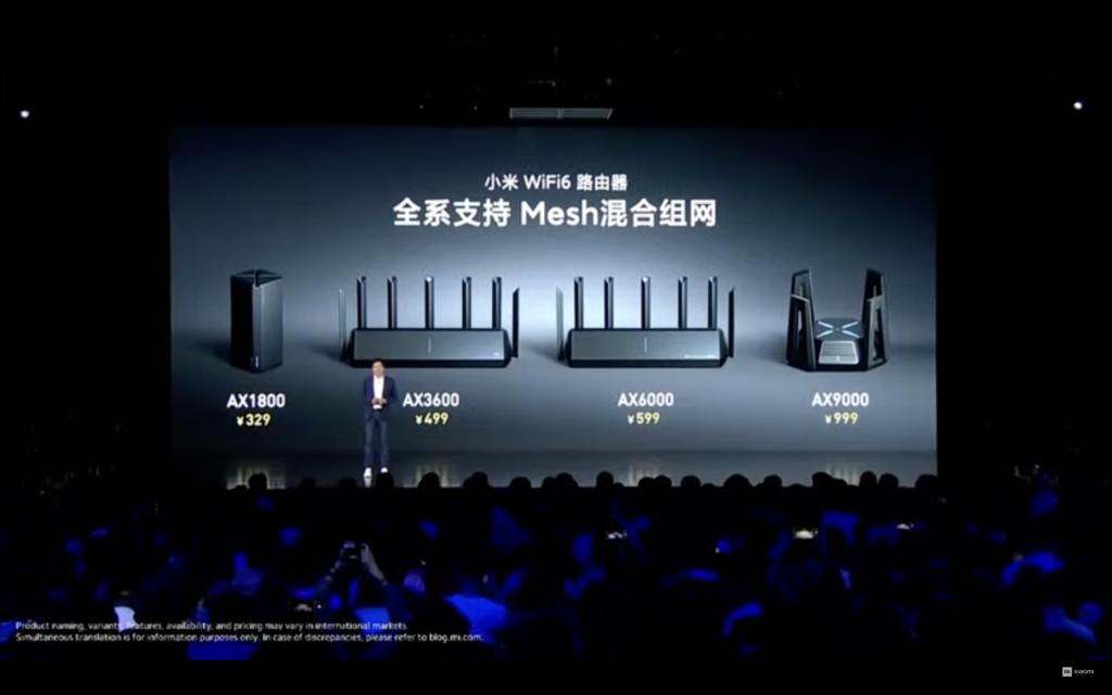 مقایسه قیمت و ظاهر روتر Mi AX9000 با روترهای قبلی
