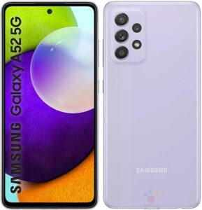 تصویر احتمالی Galaxy A52