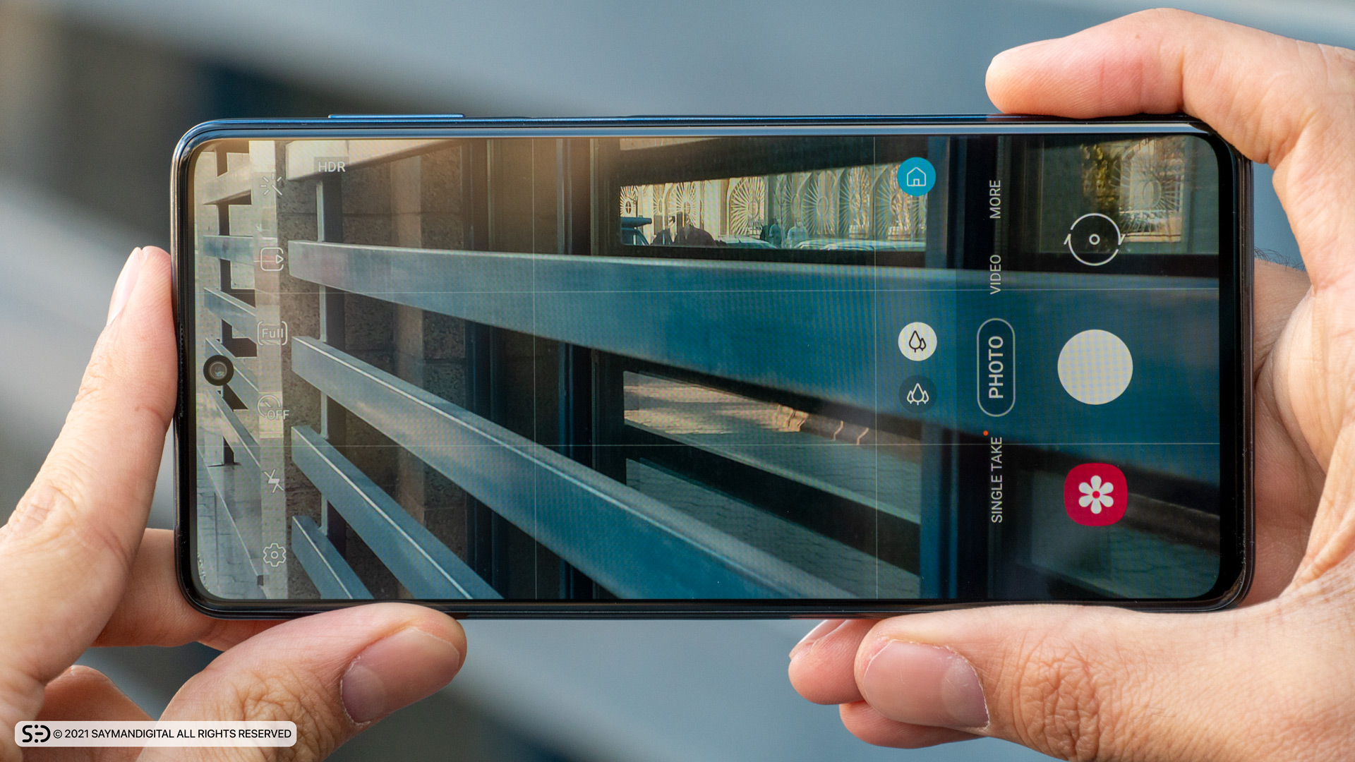 رابط کاربری دوربین گوشی گلکسی M51