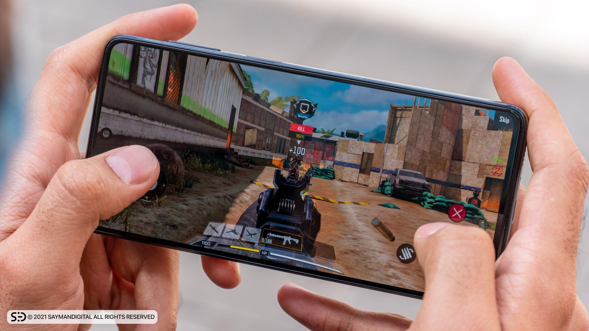 اجرای خوب و روان بازیها در مطلب بررسی Galaxy M62