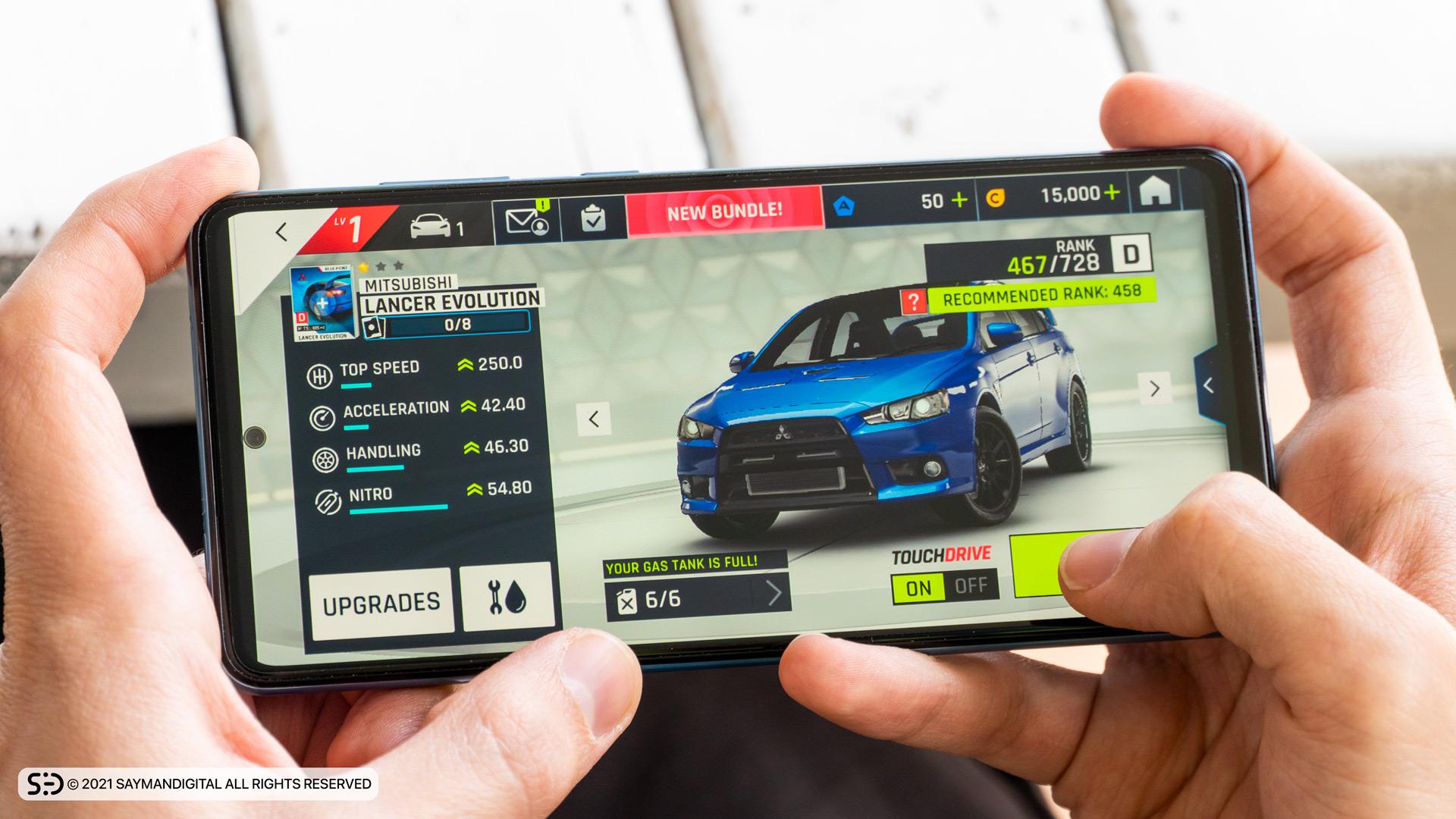 قدرت سخت افزاری در مطلب بررسی Galaxy A72