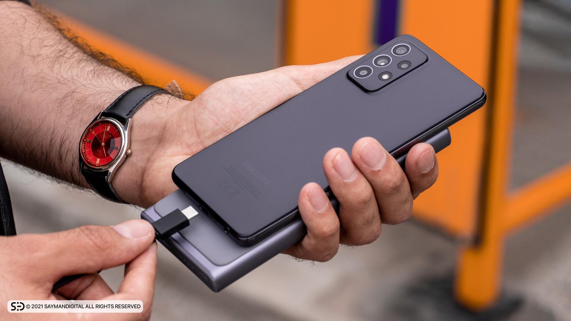 عملکرد باتری در مطلب بررسی Galaxy A52