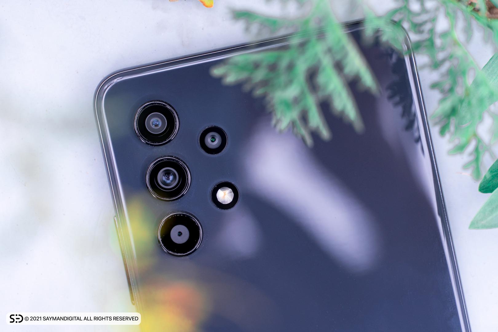 چیدمان لنز دوربینها در مطلب بررسی گلکسی A32