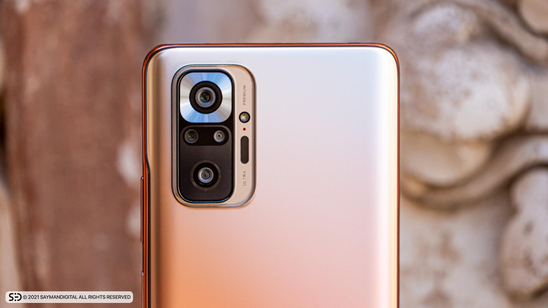 طراحی فریم دوربینها در مطلب بررسی Redmi Note 10 Pro