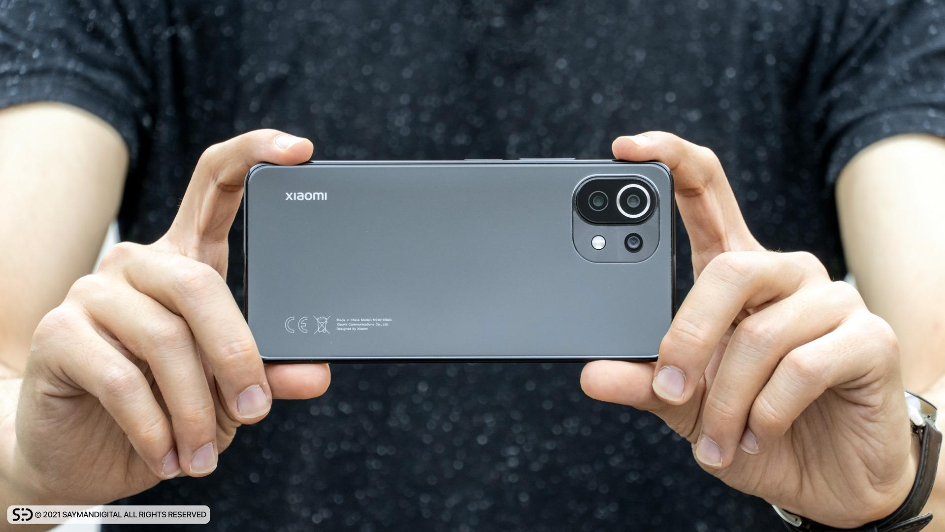 طراحی فریم دوربینها در مطلب بررسی Mi 11 Lite