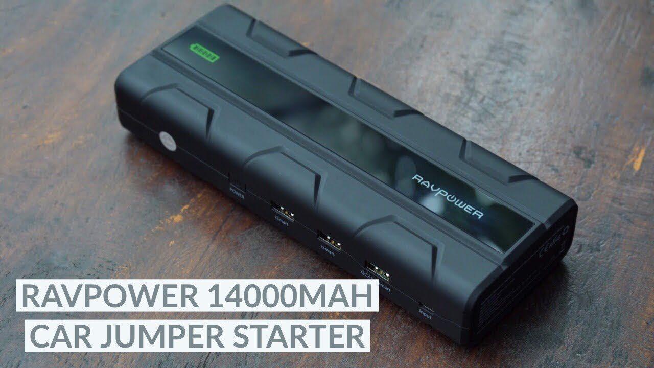 معرفی جامپ استارتر خودرو و پاوربانک راوپاور مدل RP-PB063