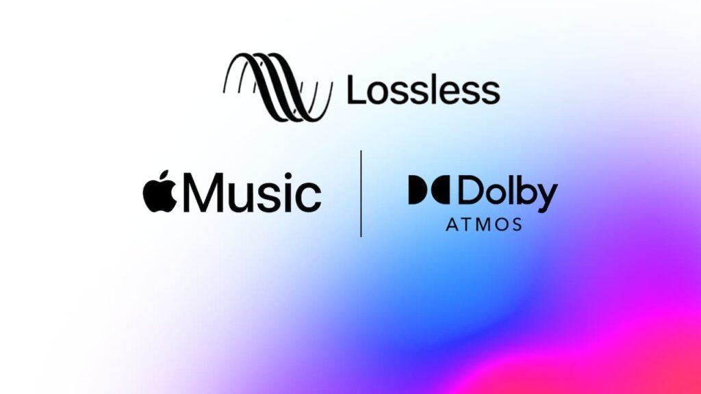 lossless اپل موزیک