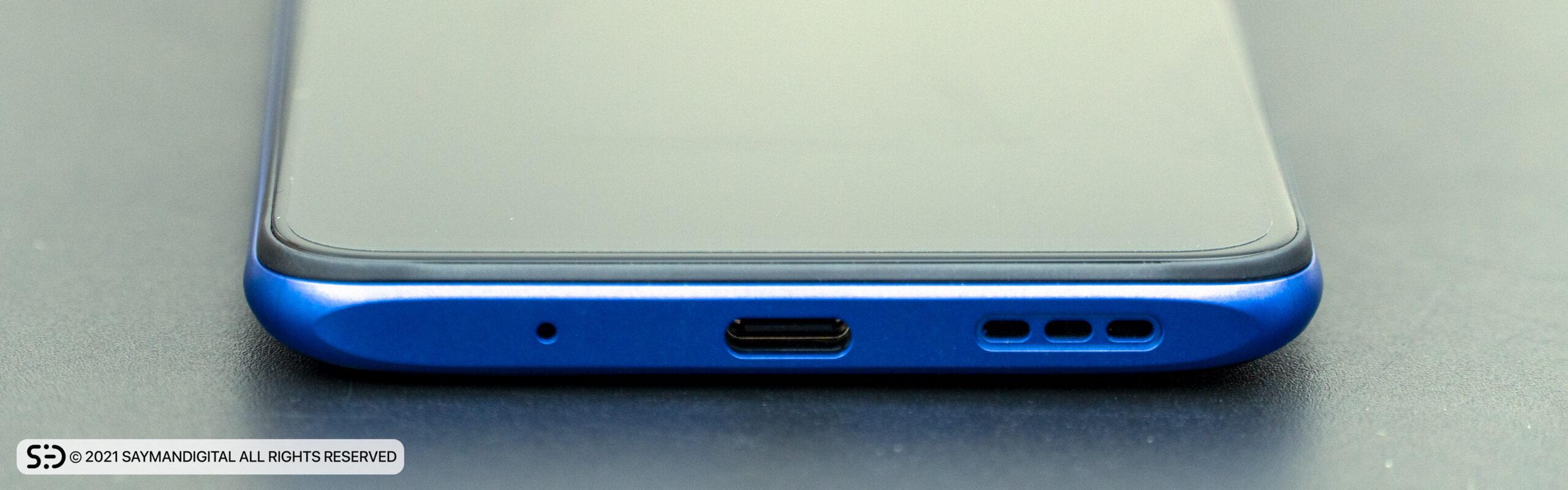 لبهی پایینی Redmi Note 10 5G