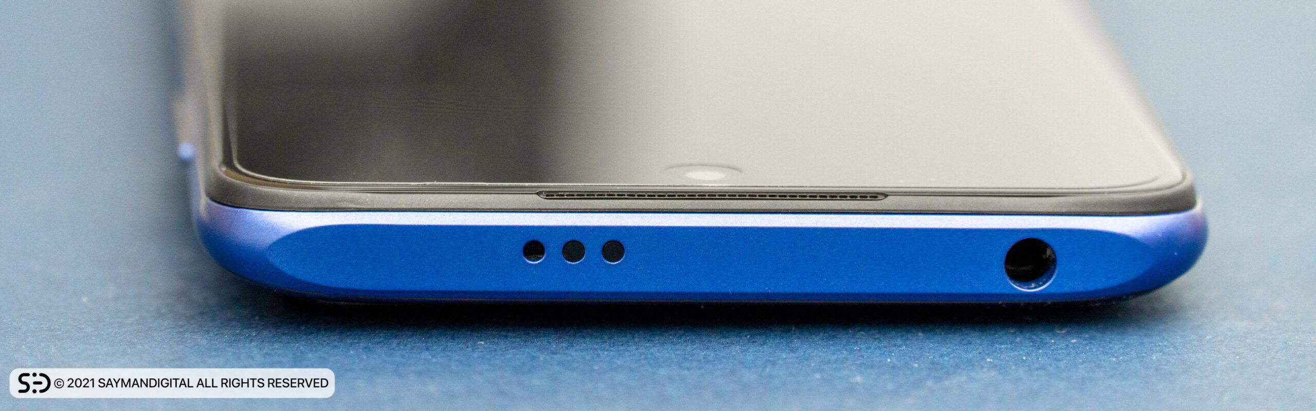 لبهی بالایی Redmi Note 10 5G