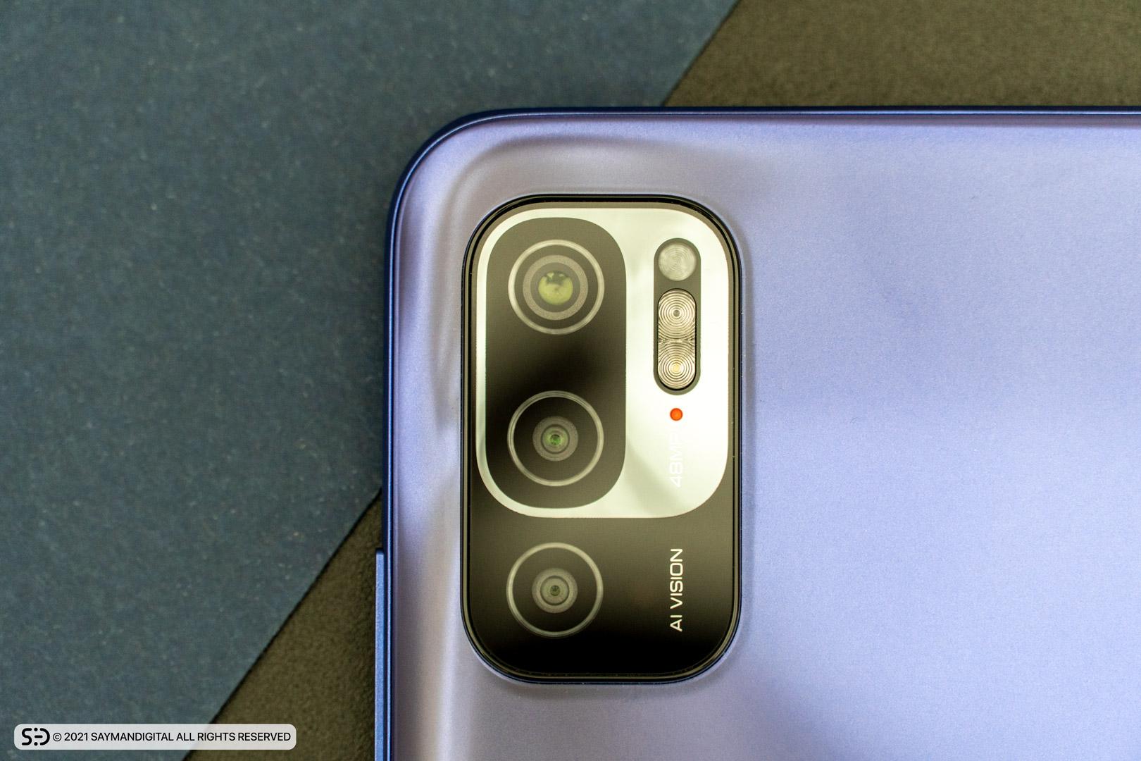 چیدمان لنز دوربینهای Redmi Note 10 5G